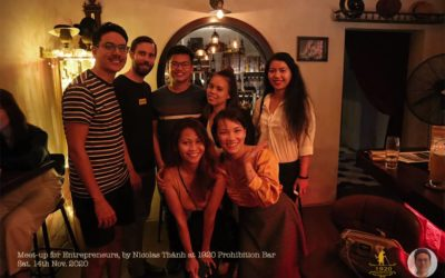 "Review of my first ""Meet-up for Entrepreneurs"" in Saigon"