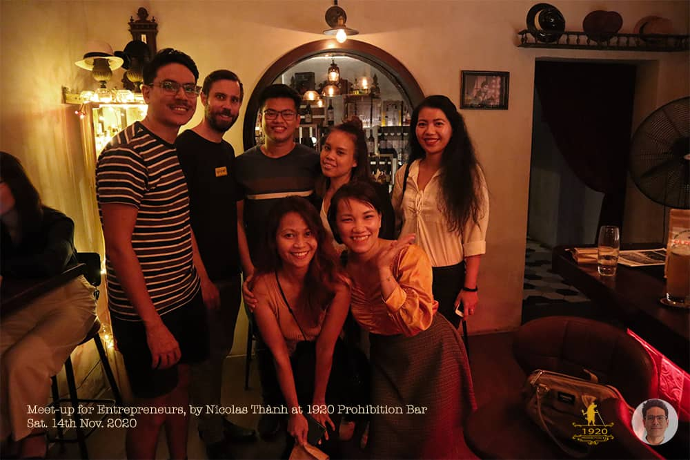 """Review of my first """"Meet-up for Entrepreneurs"""" in Saigon"""