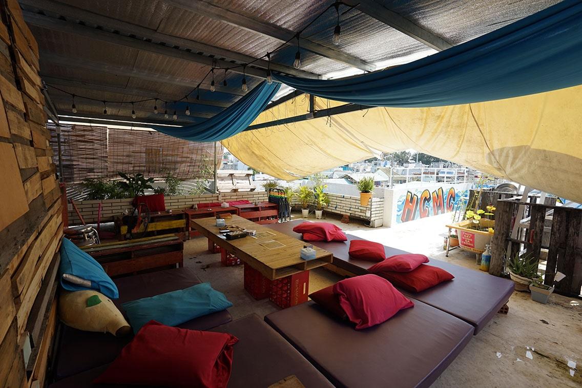 Rooftop Bar Hostel HCMC