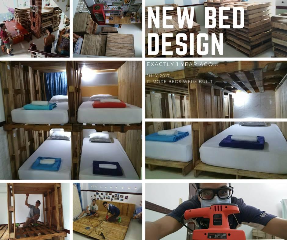 Unique Bunk bed design Pallet Saigon