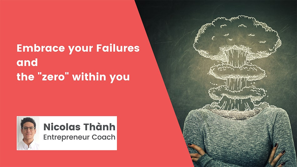 """Embrace your failures and the """"zero"""" within you"""